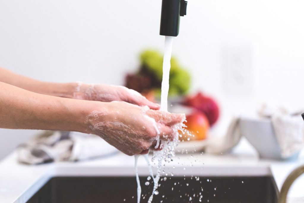Washing-Hands-Kitchen