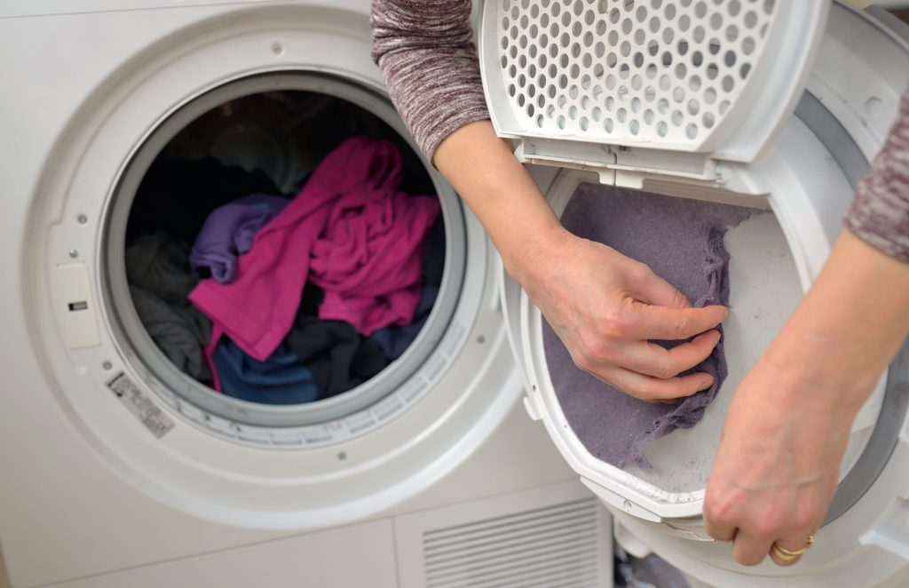 Removing Lint from Dryer